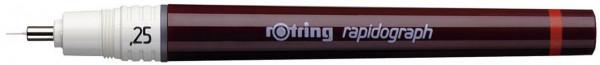 Rotring Tuschefüller Rapidograph 0.25 mm schwarz