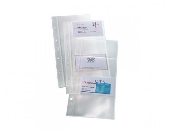 SIGEL VZ350 Erweiterungshüllen 10 Stück für Visitenkartenringbücher
