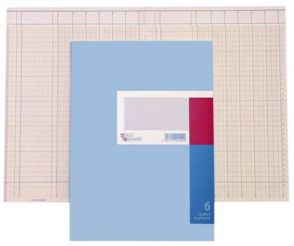 Spaltenbuch A4 13 Spalten 40 Blatt