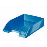LEITZ Briefkorb Plus WOW blau-metallic