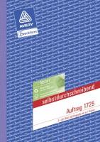 Zweckform 1725 Auftragsbuch A5 2x40 Blatt