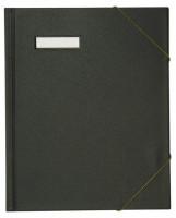 ELBA Umlaufmappe schwarz DIN A4