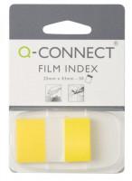 Haftstreifen 25 x 43 mm 50 Stück gelb