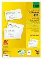 766313-sigel-PC-Visitenkarten-3C-85x55mm-A4-225g-100-Stueck-