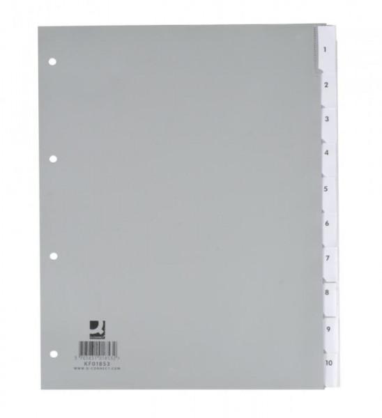 850264-Blanko-Register-aus-Kunststoff-A4-10-Blatt