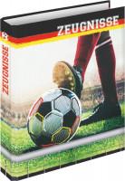 Zeugnisringbuch A4 Zeugnismappe Fußballfieber