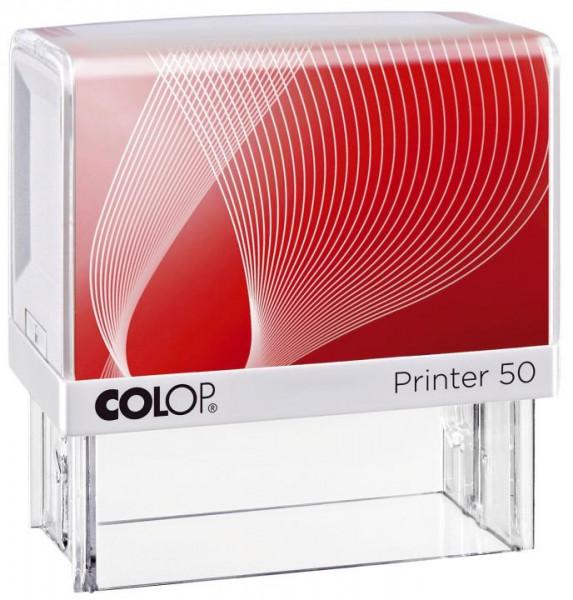 COLOP Printer 50 Stempel für max. 7 Zeilen 30 x 69 mm