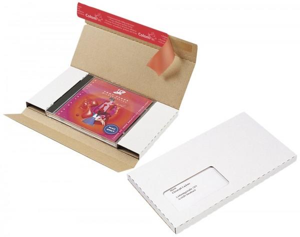 CD Versandtasche weiss