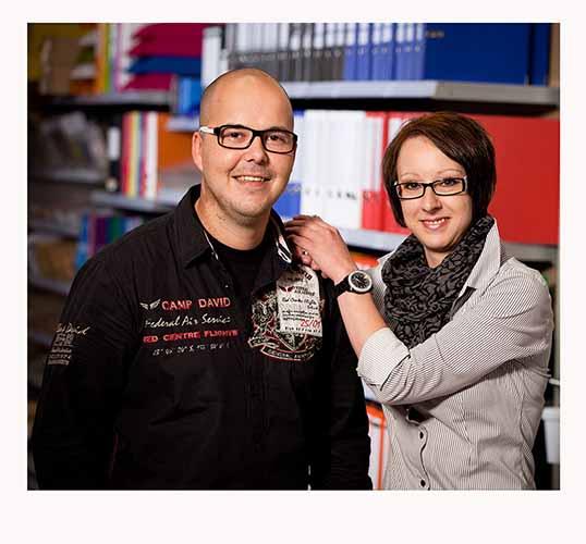 Pedro und Claudine Klemt Paper Markt