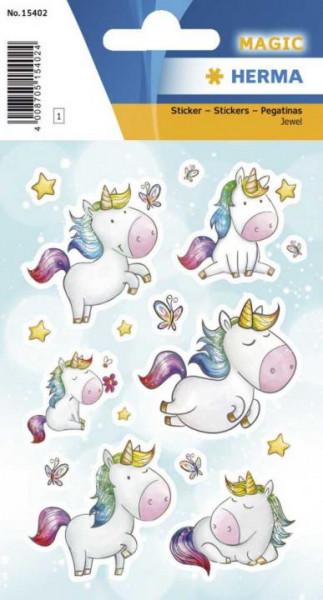 Herma Sticker Magic Einhorn Sternenstaub