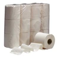 Toilettenpapier 2-lagig weiß 250 Blatt
