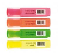 Q-CONNECT Textmarker 4 Farben