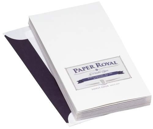 Paper Royal Briefhüllen DIN lang mit Seidenfutter
