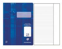 Clairefontaine Schulheft Lineatur 25 liniert mit Rand