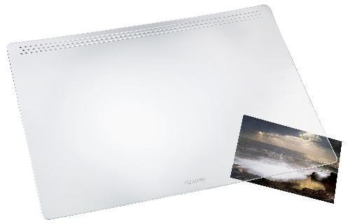Läufer Schreibtischauflage Matton transparent klar