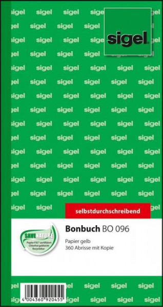 Bonbuch 360 Abrisse