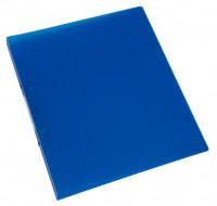Ringbuch 16mm blau-transparent