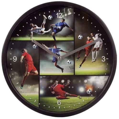 Wanduhr Kinderzimmer Fußball 22.5 cm | Paper Markt Büroartikel ...