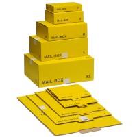 Versandkarton L gelb