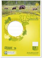 Staufen green Schulblock Lineatur 7 A4 50 Blatt 7mm kariert