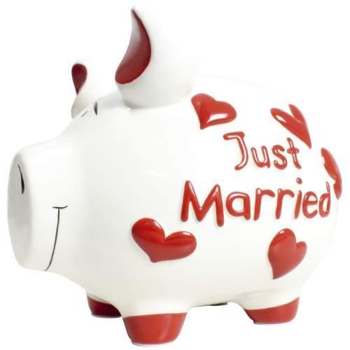 KCG Sparschwein Just Married 17cm