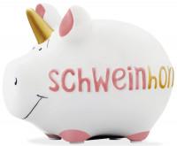 KCG Spardose Schweinhorn klein