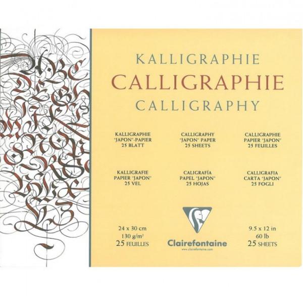 Clairefontaine Kalligraphiepapier satiniert 130g