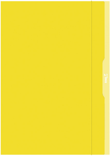 Sammelmappe DIN A3 Karton gelb