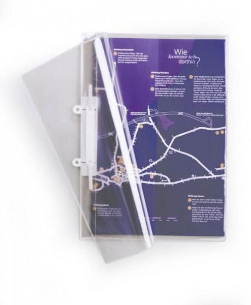 Durable Schnellhefter A4 transparent