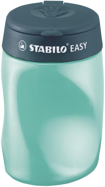 Stabilo Easy Dosenspitzer mit Deckel für Linkshänder blau, pink, petrol