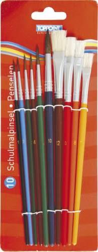 Stylex Schulpinselset 10-teilig