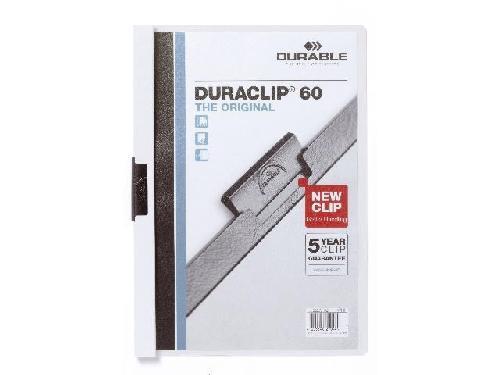 Klemmmappe Duraclip 60 weiß