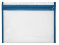 Reißverschlusstasche Velobag blau