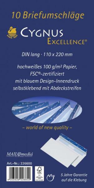 Briefumschläge selbstklebend 100 g/m