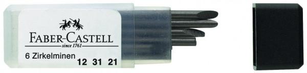 Faber-Castell Ersatzminen für alle Zirkel universell passend