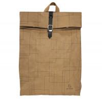 Exacompta Eterneco Rucksack aus Papier mit Fach für Laptop und Tablet