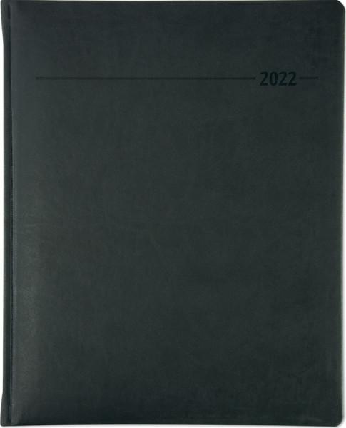 ALPHA EDITION Buchkalender 2022 1 Woche 2 Seiten 4-sprachig