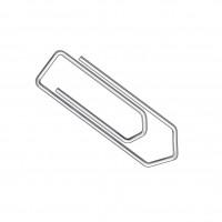 Büroklammer Metall 1000 Stück 26mm