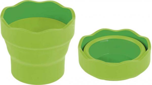 Faber Castell Wasserbecher faltbar hellgrün