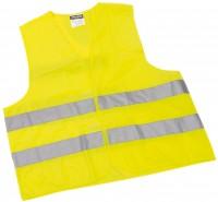 Warnweste mit Klettverschluss gelb