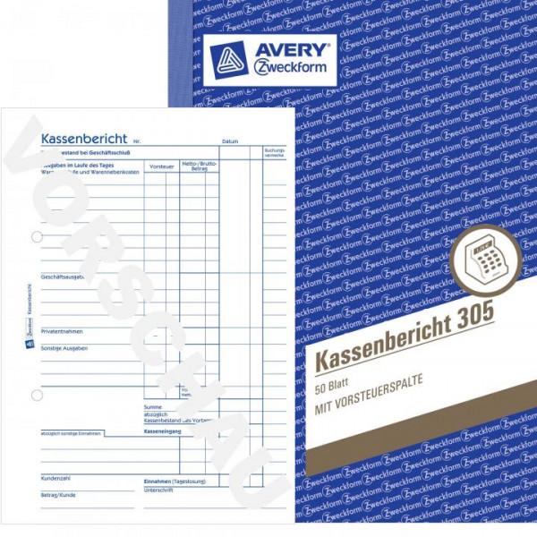 "AVERY Zweckform Formularbuch /""Haushaltsbuch/"" A5 36 Blatt"