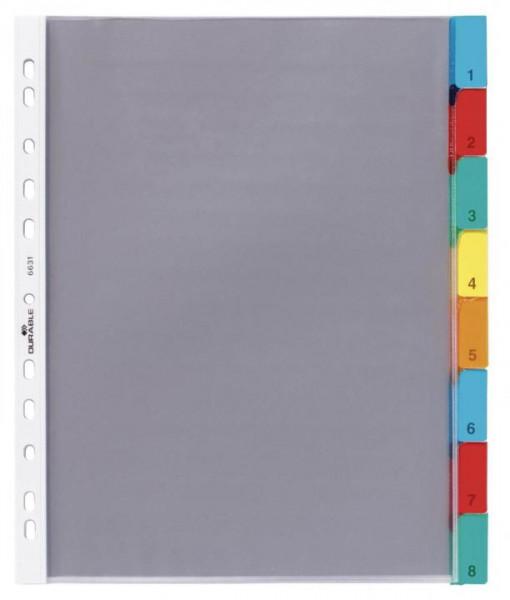 Durable Hüllenregister DIN A4