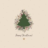 CHIC MIC Serviette Napkin Happy Christmas
