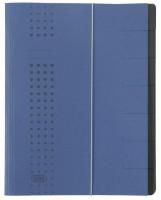 ELBA Ordnungsmappe A4 7 Fächer blau