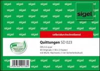 Sigel SD023 Quittungen mit MwSt Nachweis