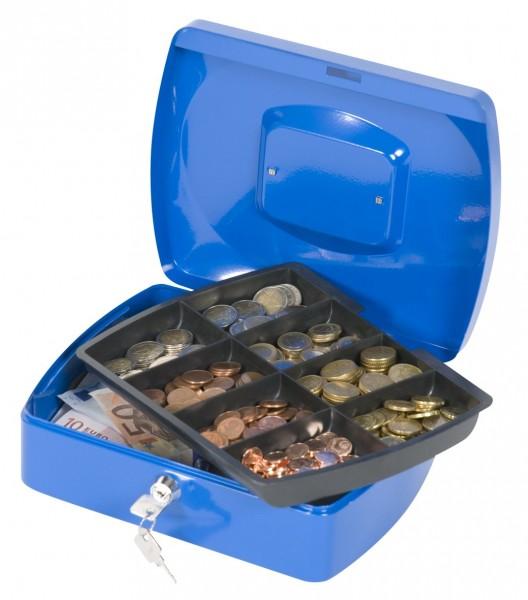 Geldkassette 255x200x85mm blau