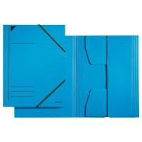 Leitz Sammelmappe A4 mit Gummizug blau