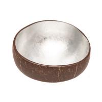 CHIC MIC Dekoschale Coconut Bowl silver