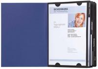 Pagna Bewerbungsmappe mit Aufdruck blau