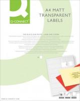 Transparente Etiketten 1000 Stück